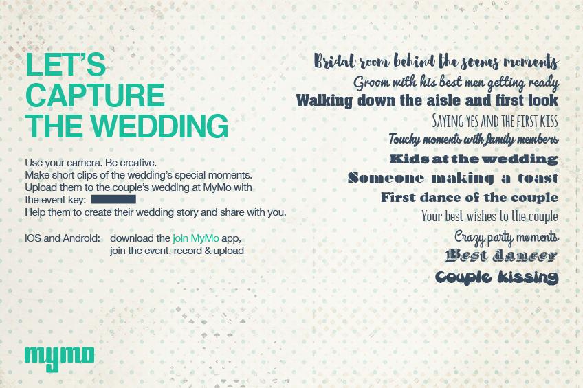 Let's Capture the Wedding